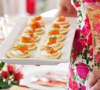 Smoked salmon blinis are the perfect appetiser for Christmas day. Light and delicious, they will leave your guests with plenty of room to enjoy the main course!