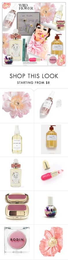"""You are what you eat.🌸🌸 floral beauty"" by frenchfriesblackmg ❤ liked on Polyvore featuring beauty, Herbivore, PENHALIGON'S, Winky Lux, Dolce&Gabbana, Blossom, Rodin and Ellis Faas"