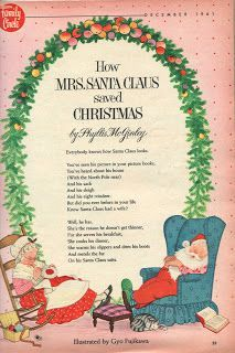 Family Circle Magazine, December 1961.