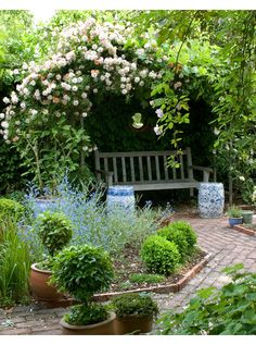 Restful retreat... a place to read or just contemplate...