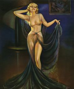 Finest Vintage Exotic Irene Patten 1935 Harem Girl Art Deco Pin Up Print Grace Girls Image, Pin Up Girls, Girly Girls, Olivia De Berardinis, Harem Girl, Flapper, Art Deco, Exotic Art, The Embrace
