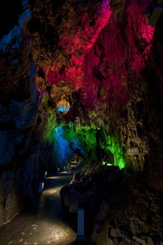 Ryusendo Caves, Iwate City...
