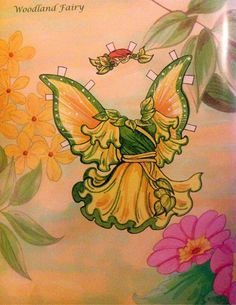 Fairy Paper Doll By Eileen Rudisill Miller: Woodland Fairy