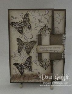 Creative Elements card ... (Dawns stamping thoughts Stampin'Up! Demonstrator Stamping Videos Stamp Workshop Classes Scissor Charms Paper Crafts)