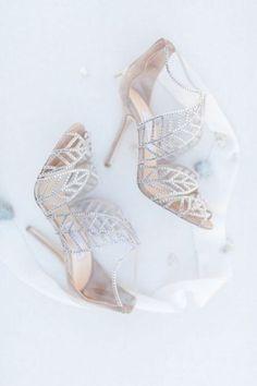 11 Sparkly Νυφικά Παπούτσια Που Θα Λατρέψεις