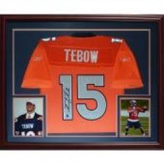 Tim Tebow signed Bronco Jersey 664bf8e0d