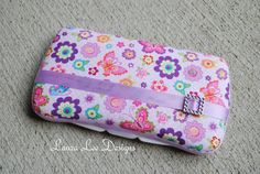 Butterflies Boutique Style Travel Baby Wipe by LauraLeeDesigns108, $9.25