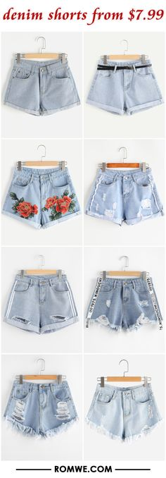 denim shorts from $7.99