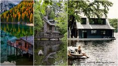 In the meantime you can imagine spending a vacation or the rest of your golden years in one of these 18 cozy lake houses.