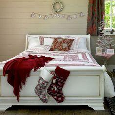 Decorar tu habitación en Navidad
