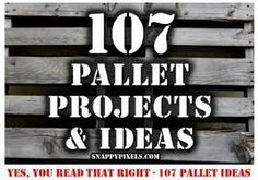 107 recycled pallet projects and ideas | Recycled Crafts ... recycledcrafts.craftgossip.com450×316Search by image If you are into building...107 recycled pallet projects and ideas | Recycled Crafts ... recycledcrafts.craftgossip.com450 × 316Search by image If you are into building stuff and would like 107 ideas for working with recycled pallets pop on over to the Snappy Pixels blog for 107 recycle pallet ideas ...