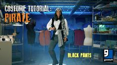 Costume Tutorial: Pirate - Learn how to put together an easy Pirate costume with some help from Goodwill's Halloween Costume Lab!
