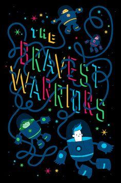 John Martz - Bravest Warriors #3 variant cover, via Flickr.