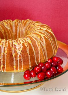 Cranberry-orange is a classic pairing during the crisp winter season. I love the tart acidity of fresh cranberries against the backdrop of perfumy oranges, and this cranberry-orange bundt cake capt…