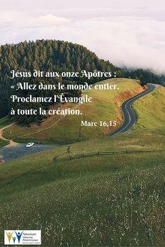 25 janvier 2016 – Marc 16,15