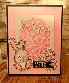 A Cute Easter Bunny by kathinwesthill - Cards and Paper Crafts at Splitcoaststampers