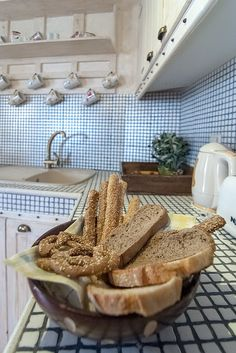Ostra Menalon Luxury Suites bread detail in kitchen Luxury Suites, Bread, Detail, Kitchen, Cooking, Kitchens, Bakeries, Breads, Cuisine