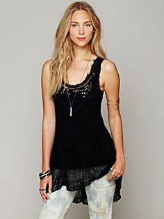 Embroidered Tunic Top - LOVE it.