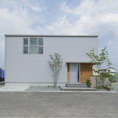 Forest View, Big Sky, Facade, Minimalism, Backyard, Exterior, House Design, Doors, Outdoor Decor