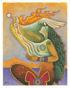 Empowering Women, Honoring the Sacred Feminine Rooted in Reverence, Seated in Spirit (rainbow warrior awaken! series) Mara Berendt Friedman egg tempera on canvas, 11 x 14 NFS Psychedelic Art, Art Visionnaire, Rainbow Warrior, Goddess Art, Sacred Feminine, Inspiration Art, Visionary Art, Sacred Art, Native American Art