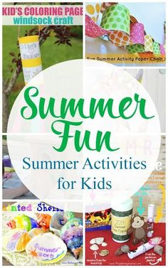 Summer Fun kids activities to do this summer