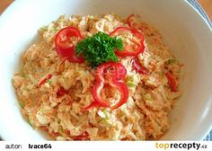 Risotto, Grains, Rice, Treats, Chicken, Ethnic Recipes, Food, Pineapple, Red Peppers