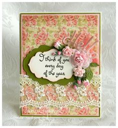 Our Daily Bread Designs February 2015 Release, ODBD February 2015, ODBD Blushing Rose Paper Collection, ODBD Custom dies Hello, Antique Labels and Border, Vintage Labels, ODBD Stamp Miss You