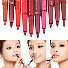 Lipliner Pencil Makeup 10 Colors