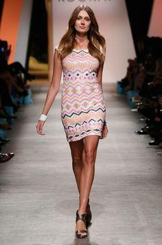 From the runway, Glisten Dress | Kookai $180 #MacquarieCentre