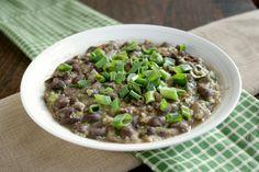 Vegetarian Feijoada (Brazilian Black Bean Stew) via Sel Et Sucre