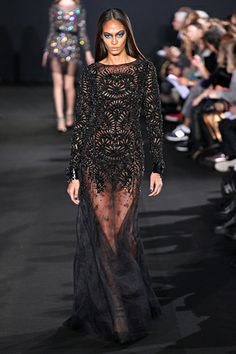 Joan Smalls Photos Fall 2012 Ready-to-Wear Prabal Gurung