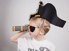 DIY-Anleitung: Piratenkostüm für Kinder selber machen via DaWanda.com