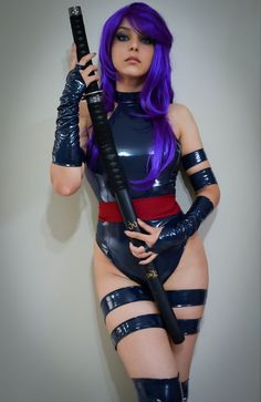 Psylocke by Shermie-Cosplay - Cosplay Hotties: A Tumblr for Hot Cosplay Girls