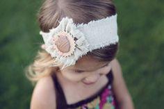 adorable fall headband for girls