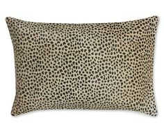 Faux Cheetah Hide Pillow Cover #williamssonoma