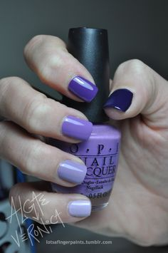 Can't wait to try this.. Great excuse to add to my collection of purple polishes!