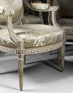 1000 images about salons on pinterest louis xvi floral chair and yellow sofa - Salon louis xvi ...