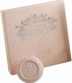 Rance Geranium Milled Soap, Box of 4 x 100g - Fragrance