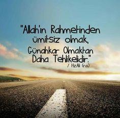 #ALLAH'IN RAHMETİNDEN ÜMİT KESMEYİN!
