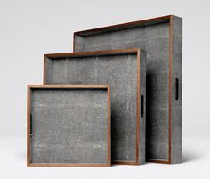 Objects | Made Goods Shagreen Trays