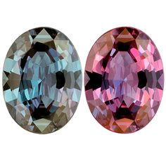 Strong color change Brazilian #Alexandrite, 0.74cts