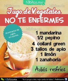 Hábitos Health Coaching | JUGO DE VEGETALES NO TE ENFERMES