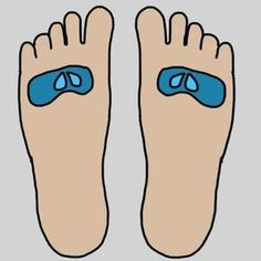 Believe it or not, feet play a huge role in your mental and physical health. Find out where these 9 parts of the foot connect to in your body. Foot Reflexology, Psychology, Improve Yourself, Health Fitness, Massage, Healing, Japanese, Yoga, Sport