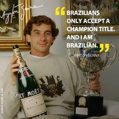 A true legend Ayrton Senna