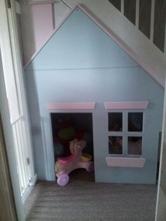 Under the stairs play house