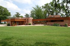 The Muirhead Farmhouse designed By Frank Lloyd Wright.  Frank Lloyd Wright Farmhouse Tours once every 2 years.  Who knew?  Only 20 minutes away!  May 4, 2014