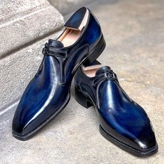 Handcrafted Leather Derby Shoes for Men Mens Business Casual Shoes, Slip On Shoes, Men's Shoes, Leather Skin, Derby Shoes, Penny Loafers, Oxford Shoes, Dress, Fashion
