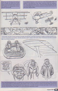 Scan from Wizard Magazine Basic Training: Part 2 of 6 Joe Kubert shows how… Comic Book Artists, Comic Book Characters, Comic Books Art, Comic Art, Character Drawing, Character Concept, Character Design, Figure Drawing, Drawing Reference