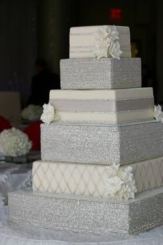 Formal wedding cake #Urban #City #Wedding ... Wedding #ideas for brides, grooms, parents & planners https://itunes.apple.com/us/app/the-gold-wedding-planner/id498112599?ls=1=8 … plus how to organise an entire wedding, without overspending ♥The Gold Wedding Planner iPhone #App ♥ For more wedding ideas http://pinterest.com/groomsandbrides/boards/ ♥ #Black #Tie #Formal #Black #White #Cocktail #Bride #Groom #City #Urban #Wedding #Inspiration #Modern #Contemporary
