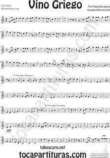 partition musique vino griego